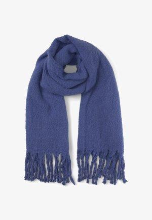 Scarf - deep ultramarine blue