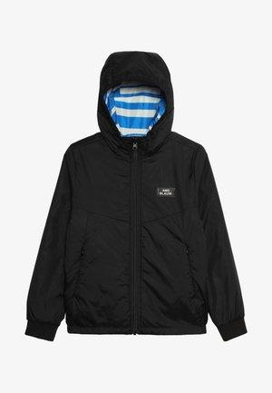 REVERSIBLE HOODED JACKET - Light jacket - black