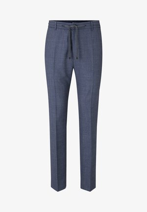 BAX - Suit trousers - navy gemustert