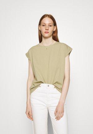 IRONWOOD SQUARE TEE - T-shirt basic - ash green