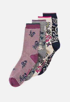 RASMINE FLORAL SOCK BOX 4 PACK - Socks - multi