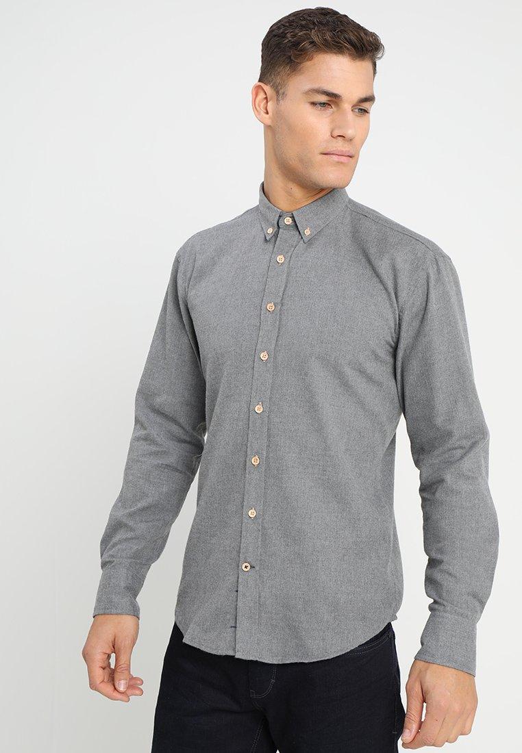 Kronstadt DEAN DIEGO - Camisa - grey - Ropa de hombre
