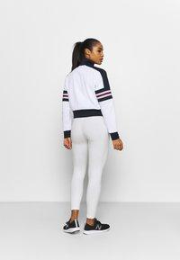 New Balance - ACHIEVER HALF ZIP - Long sleeved top - white - 2