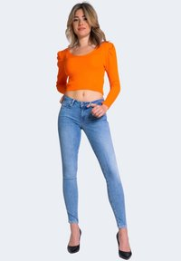 Guess - Jeansy Skinny Fit - blue denim - 1