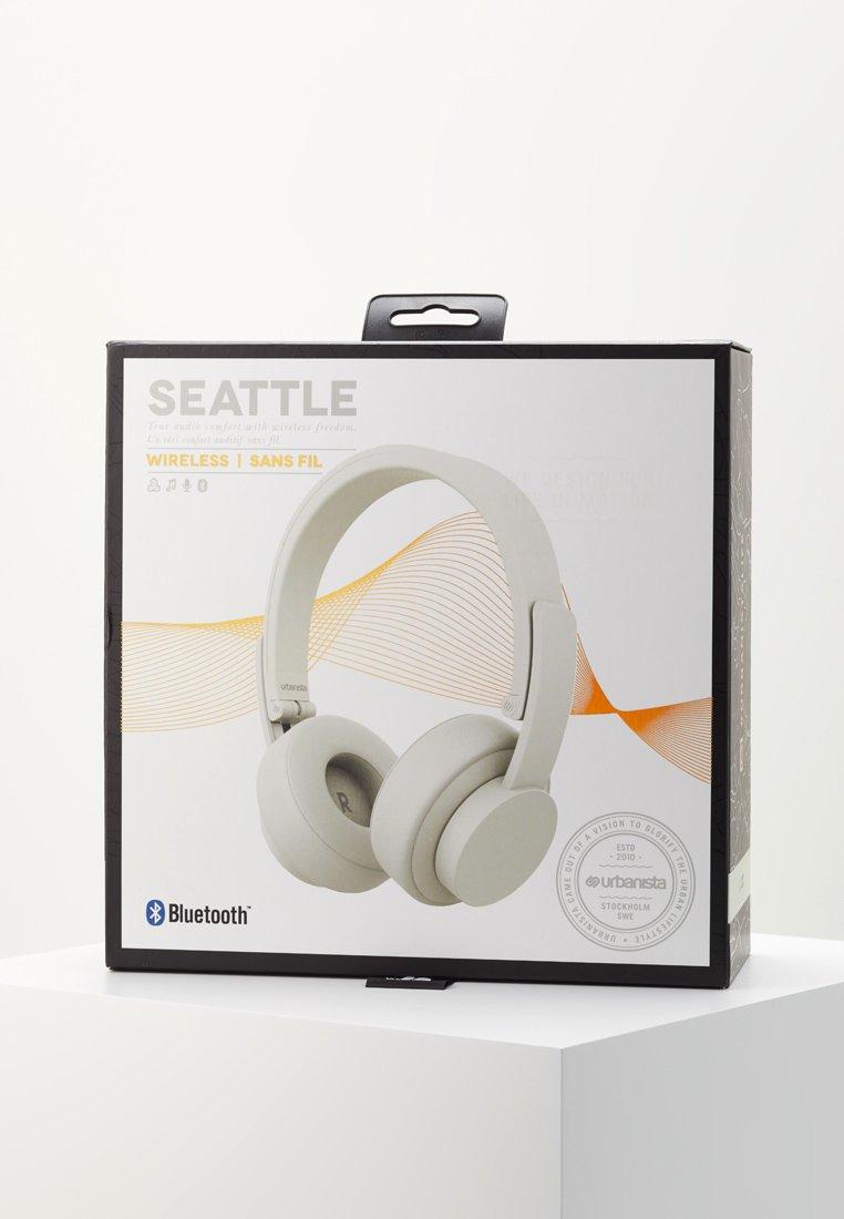 Urbanista SEATTLE BLUETOOTH - Hodetelefoner - fluffy white/hvit 2f5gWHfIy63zQJ6