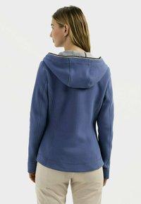 camel active - SCUBA - Zip-up sweatshirt - blue - 2