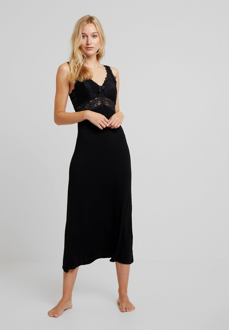 Hunkemöller - LONG - Nightie - black