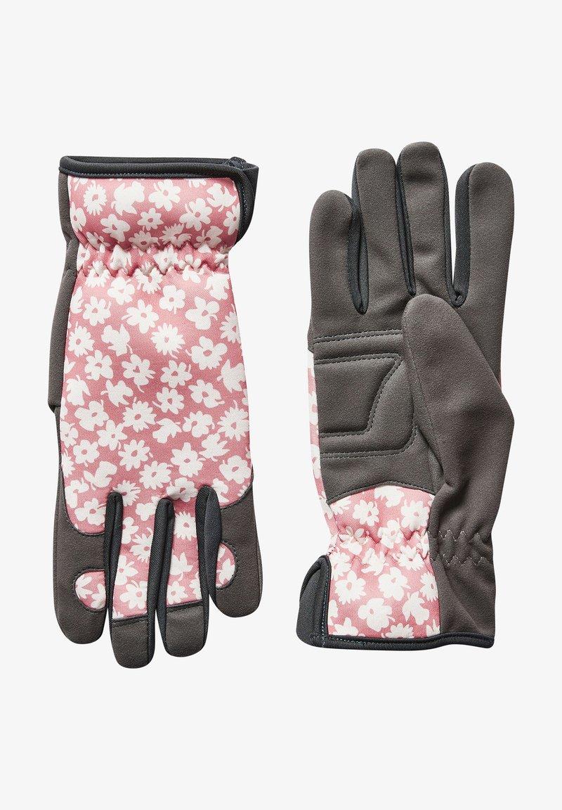 Next - FLORAL PRINT GARDENING - Gloves - pink