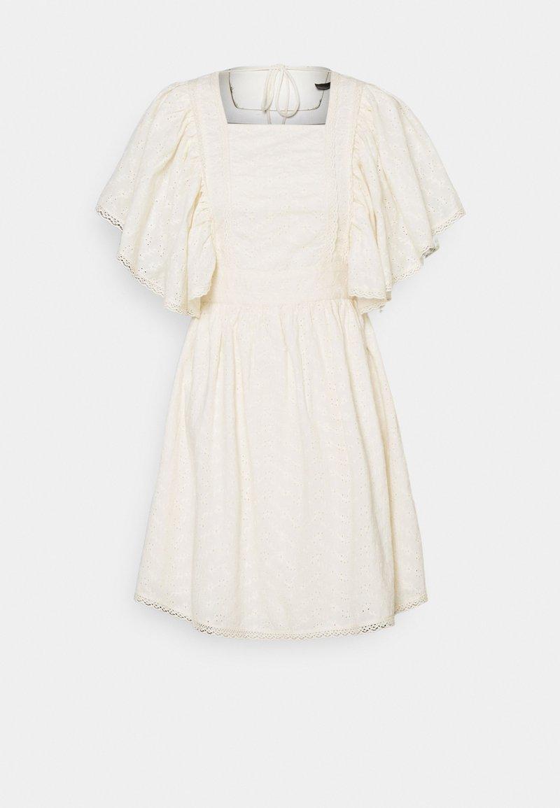 YAS - YASMONICO DRESS - Day dress - eggnog