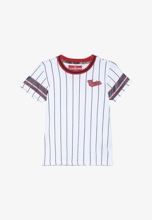 HAWIN - Print T-shirt - real white