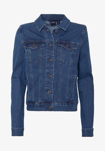 VMHOT SOYA JACKET - Jeansjakke - medium blue denim