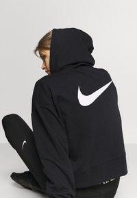 Nike Performance - DRY GET FIT  - Zip-up hoodie - black/white - 5