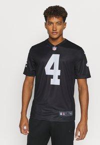 Nike Performance - NFL OAKLAND RAIDERS DEREK CARR LEGEND TEAM COLOUR - Klubové oblečení - black - 0