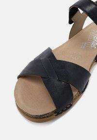 Rieker - Sandały - blau - 5