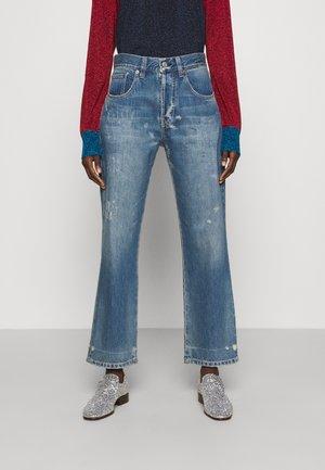 VICTORIA - Jeans straight leg - vintage wash light