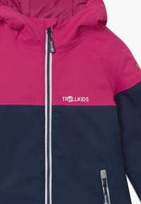 TrollKids - GIRLS HALLINGDAL - Kurtka snowboardowa - navy/pink/white - 3