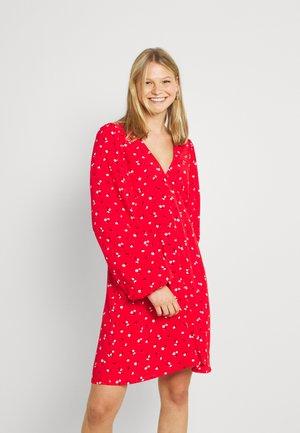 ENCORALINE DRESS - Vapaa-ajan mekko - red petunia