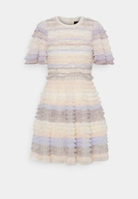 Needle & Thread - LUELLA RUFFLE MINI DRESS - Cocktail dress / Party dress - porcelain - 5