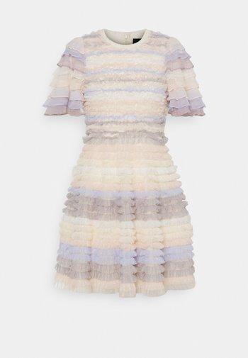 LUELLA RUFFLE MINI DRESS - Cocktail dress / Party dress - porcelain