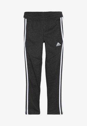 TIRO 19 - Teplákové kalhoty - black melange/white