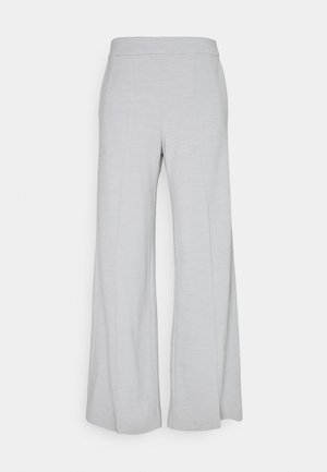 LEJANNA TROUSERS - Trousers - grey