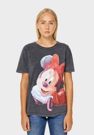 MIT MINNIE - T-shirt con stampa - dark grey