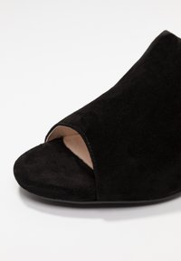 Bianco - BIACATE - Heeled mules - black - 2
