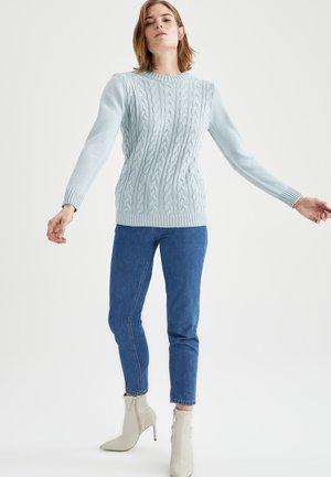 REGULAR FIT  - Jumper - turquoise
