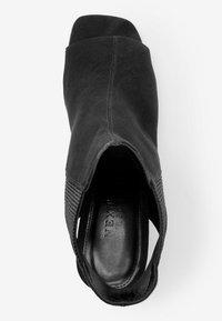 Next - Ankle cuff sandals - black - 2