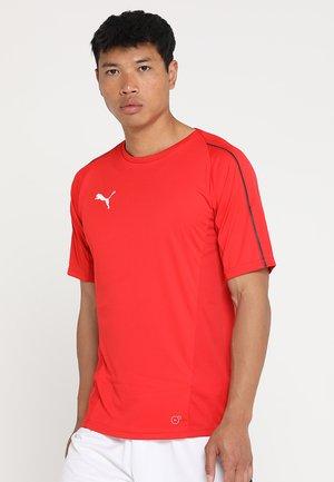 FINAL TRAINING - Print T-shirt - red