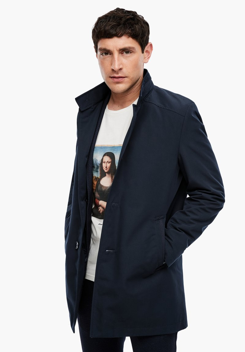 s.Oliver BLACK LABEL - Short coat - dark blue