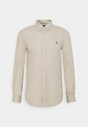 PIECE DYE  - Shirt - tan