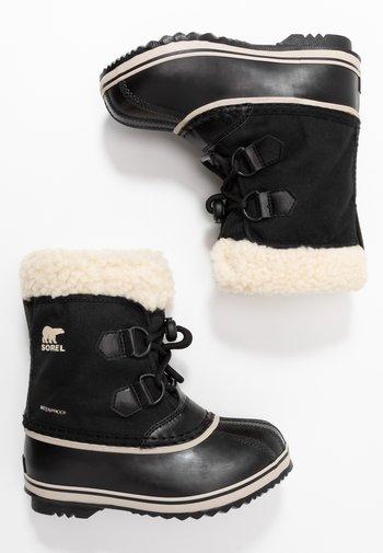 CHILDRENS YOOT PAC UNISEX - Winter boots - black