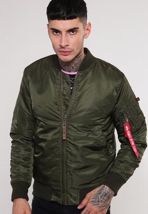 Kurtka Bomber - dark green