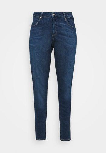 HIGH RISE - Jeans Skinny Fit - denim dark
