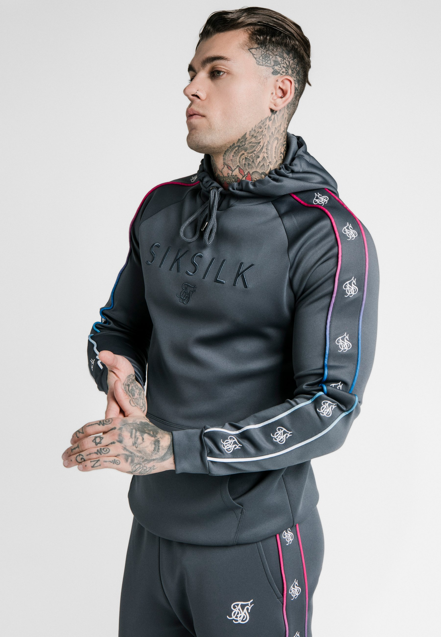 Homme ASTRO FADE OVERHEAD HOODIE - Sweat à capuche