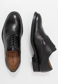 ALDO - ELOIE - Elegantní šněrovací boty - black - 1