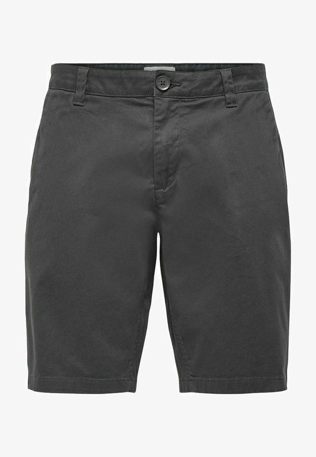 ONSCAM  - Shorts - grey pinstripe
