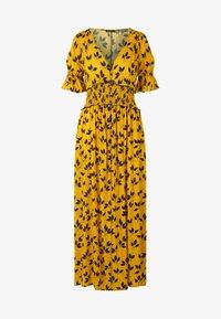 Apart - PRINTED DRESS - Robe longue - yellow/black - 5