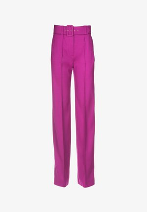 OSTEN - Trousers - ciclamino