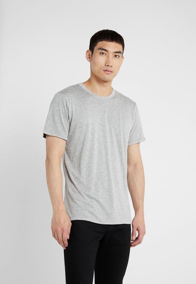 TEE - T-shirt basic - heather charcoal