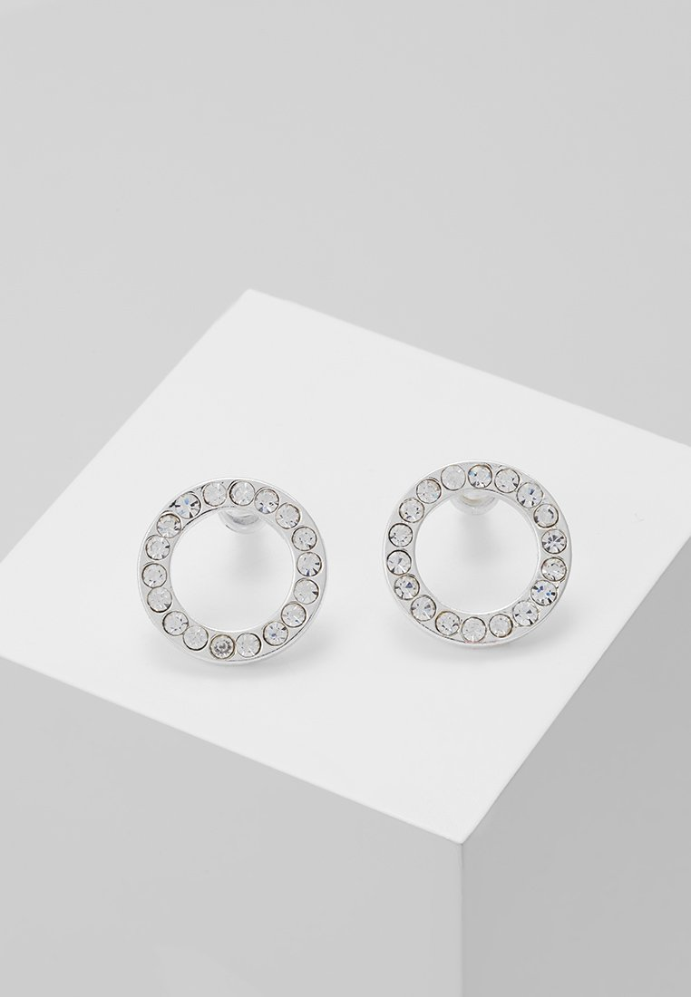 Pilgrim - EARRINGS VICTORIA - Náušnice - silver-coloured