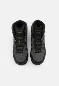 Hi-Tec - BANDERA LITE MID WP - Chaussures de marche - olive night/black/charcoal/cool grey - 3