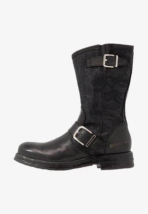 VENERA - Cowboy/Biker boots - black