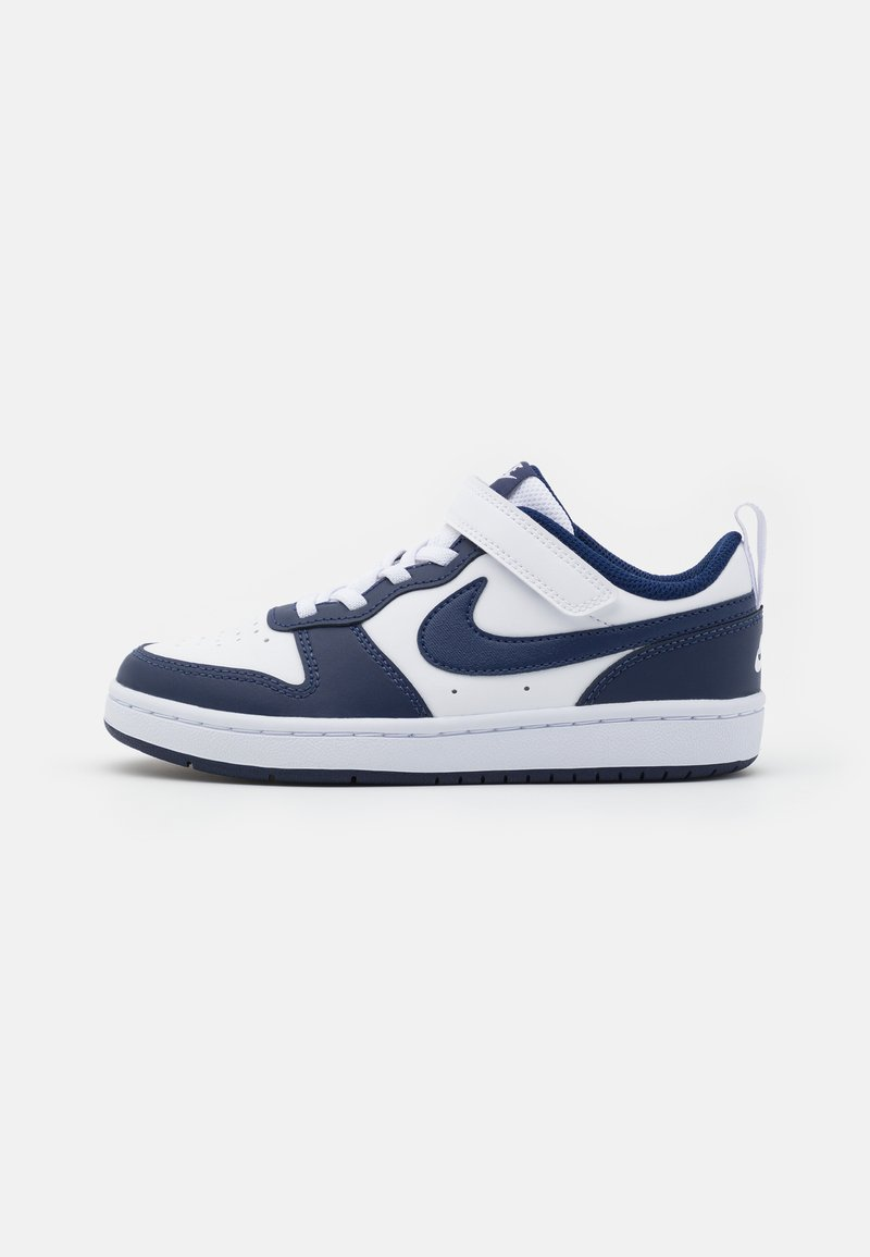 Nike Sportswear - COURT BOROUGH UNISEX - Trainers - white/blue void/signal blue