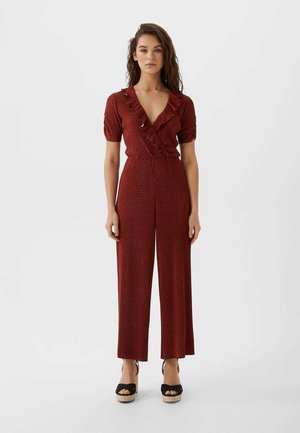 Jumpsuit - bordeaux