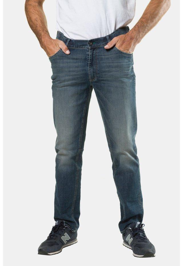 Jeans straight leg - blue stone
