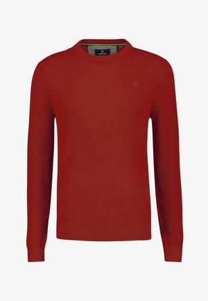 BASIC  - Jumper - burnt red