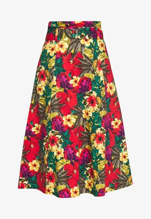 STELLA SKIRT - A-snit nederdel/ A-formede nederdele - tropical yellow