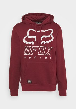 OVERHAUL - Kapuzenpullover - dark red